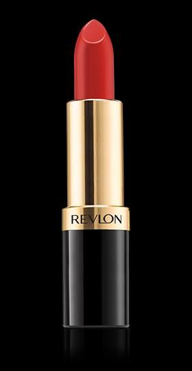 Revlon Super Lustrous™ Lipstick. LEGENDARY GLAMOUR. My Shade: RICH GIRL RED.   sheer and shiny