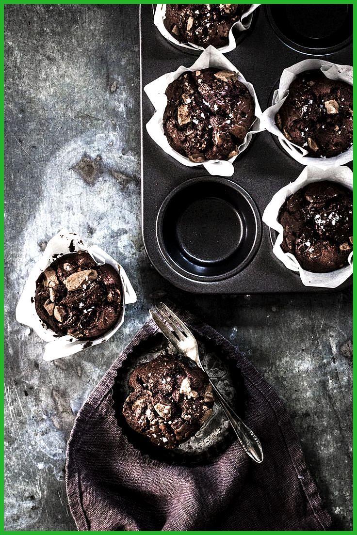 Schokomuffins passen immer: zu Geburtstagen, Sommerfesten oder noch lauwarm mit … #Fitness food aest...