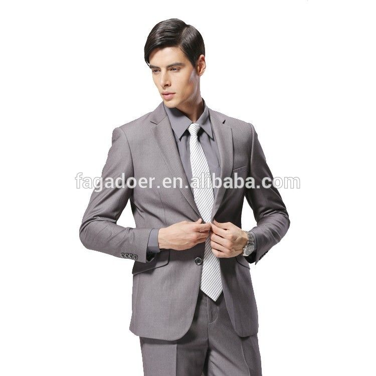 2016 Latest Design Coat Pant Man Suits Style Slim Fit Stylish New ...