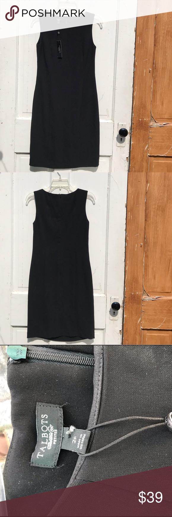Talbots Black Dress Size 2 Petite Black Dress Talbots Dress Talbots [ 1740 x 580 Pixel ]