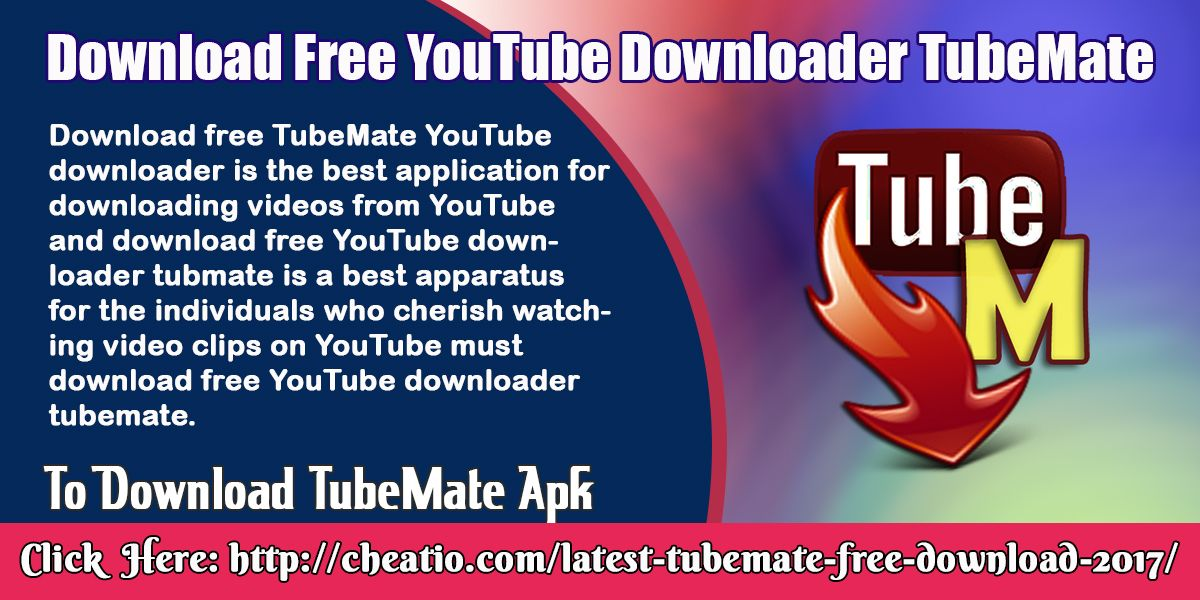 TubeMate YouTube downloader application passes you the