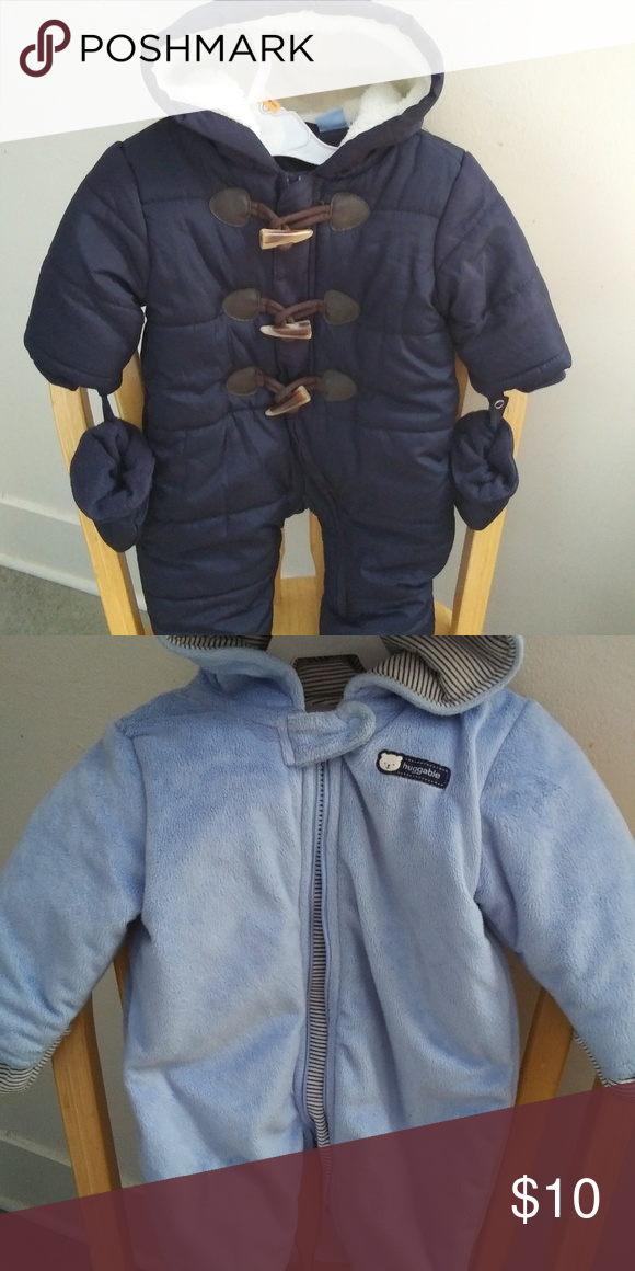 f4181a75c Baby Bunting Thick and very soft baby suits. In EUC Carter s Other ...