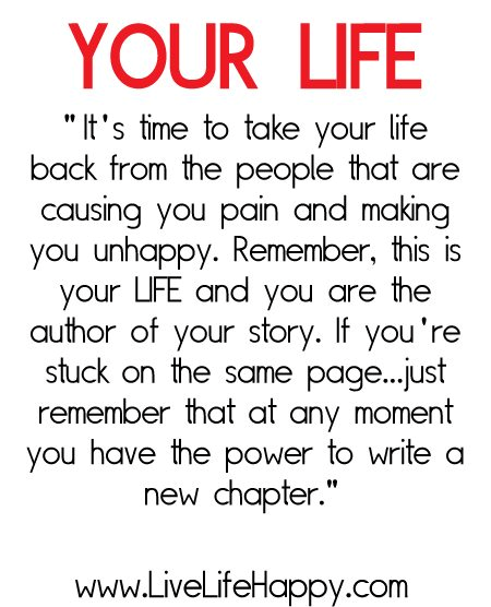 Love That I Have The Opportunity To Write A New Chapter In My Life