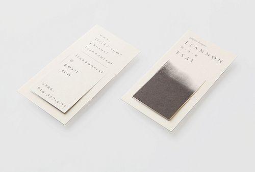 Name Card Bookmark Absorb Name Card Design Name Cards Card Design