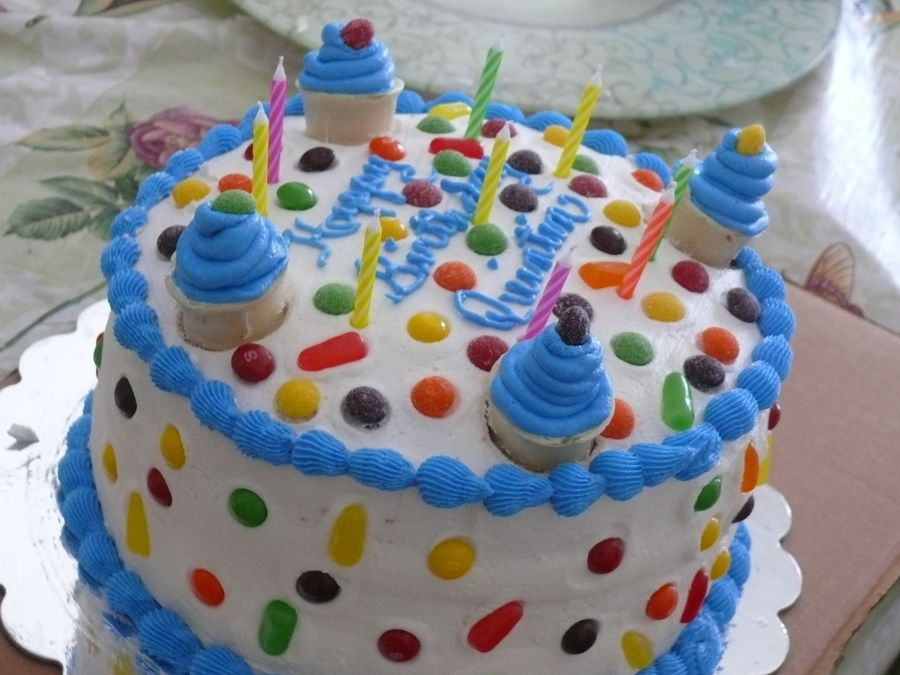Simple birthday cake Baking and Frosting Pinterest Birthday