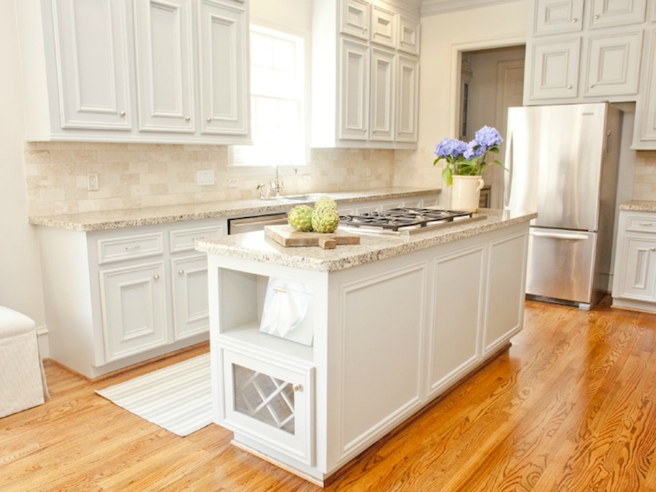 White Kitchen Light Granite munger interiors: soft gray kitchen design with light gray kitchen
