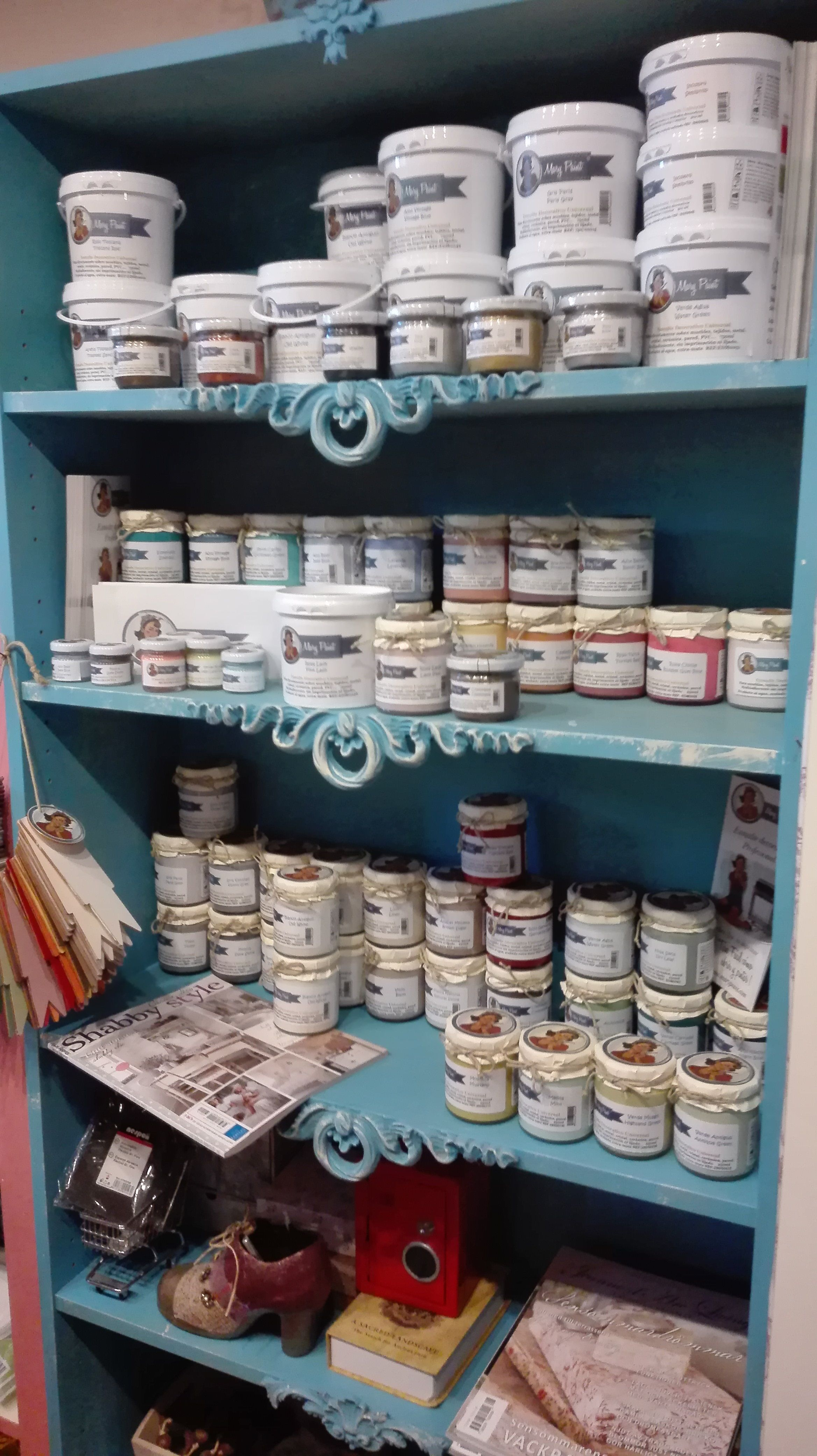 pintura decorativa para muebles Mary Paint efecto tiza mate shabby ...