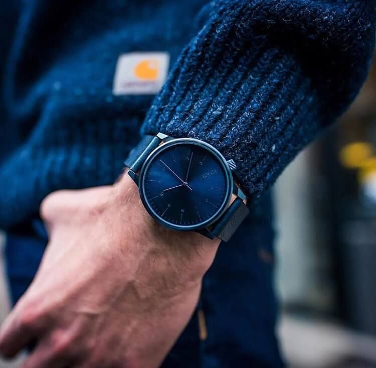 0a3b8c968 Favorite Komono Winston Regal blue watch.   Modré hodinky Komono. #watches  #watchesofinstagram