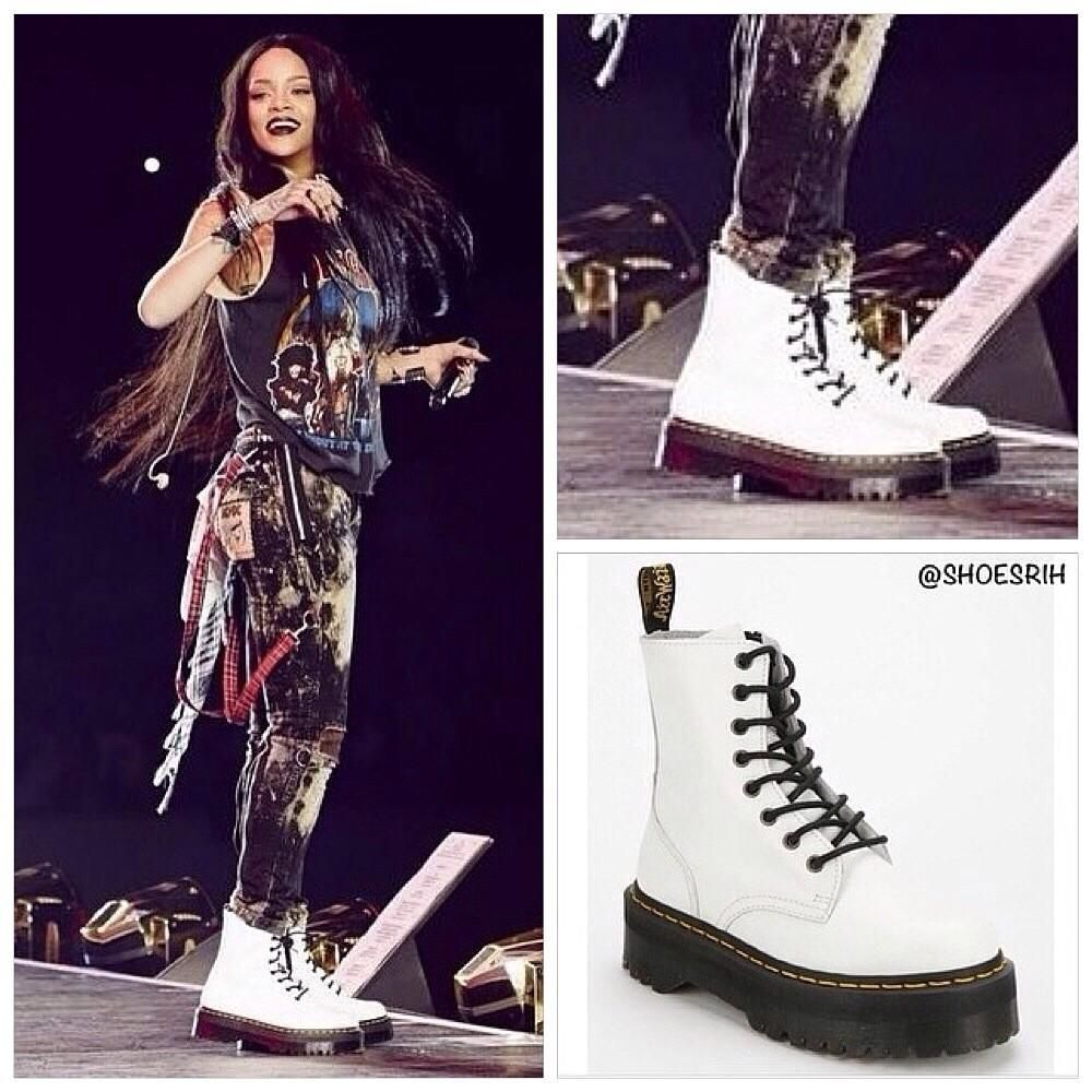 rihanna\u0027s shoes on