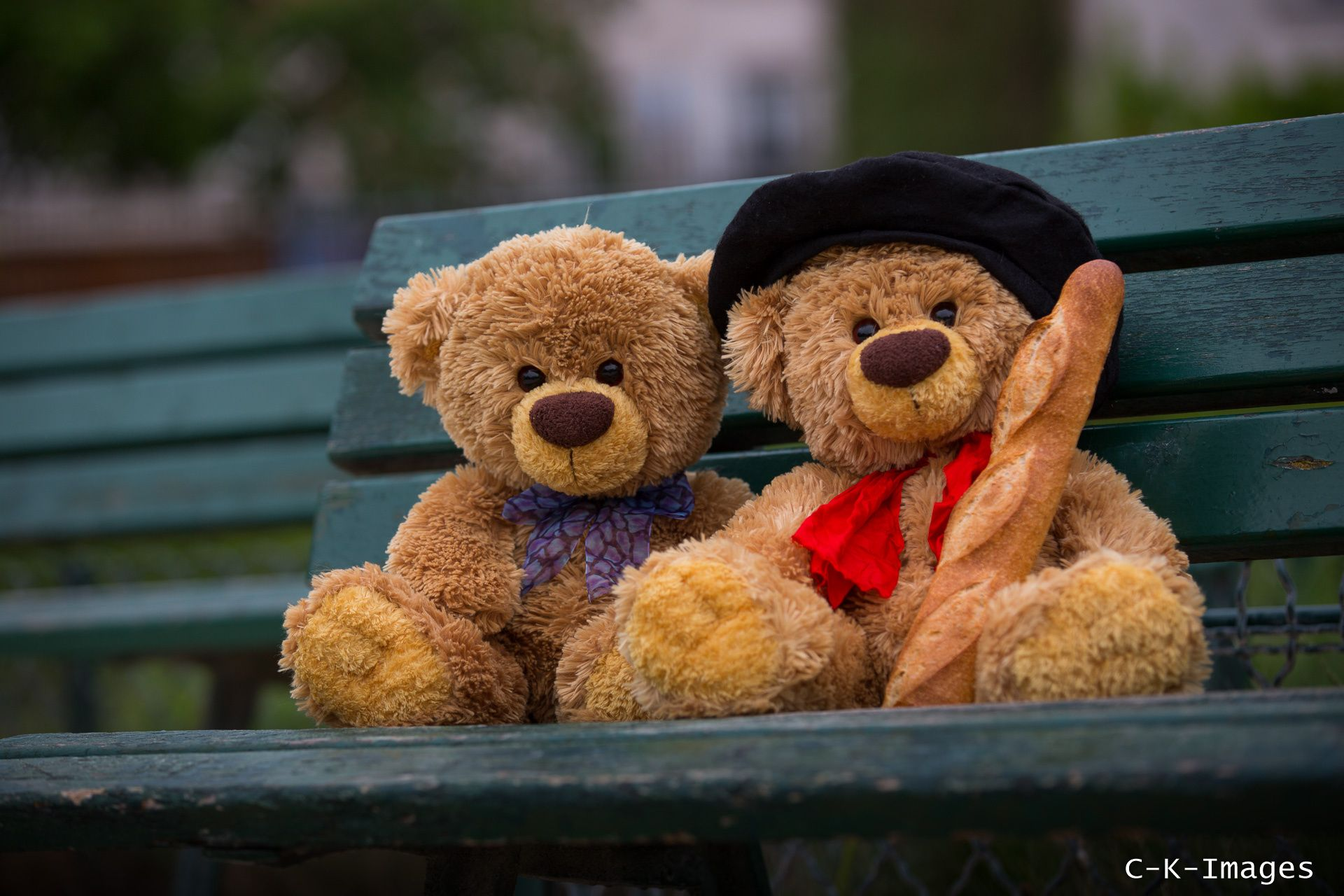 Twin Teddy's In Paris By Christian Kneidinger On 500px