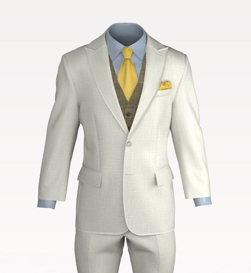 Marvelous Designer, Classic Suit, Design