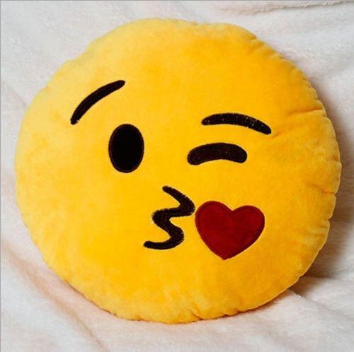 Kissy Face Emoji Emoji Pillow
