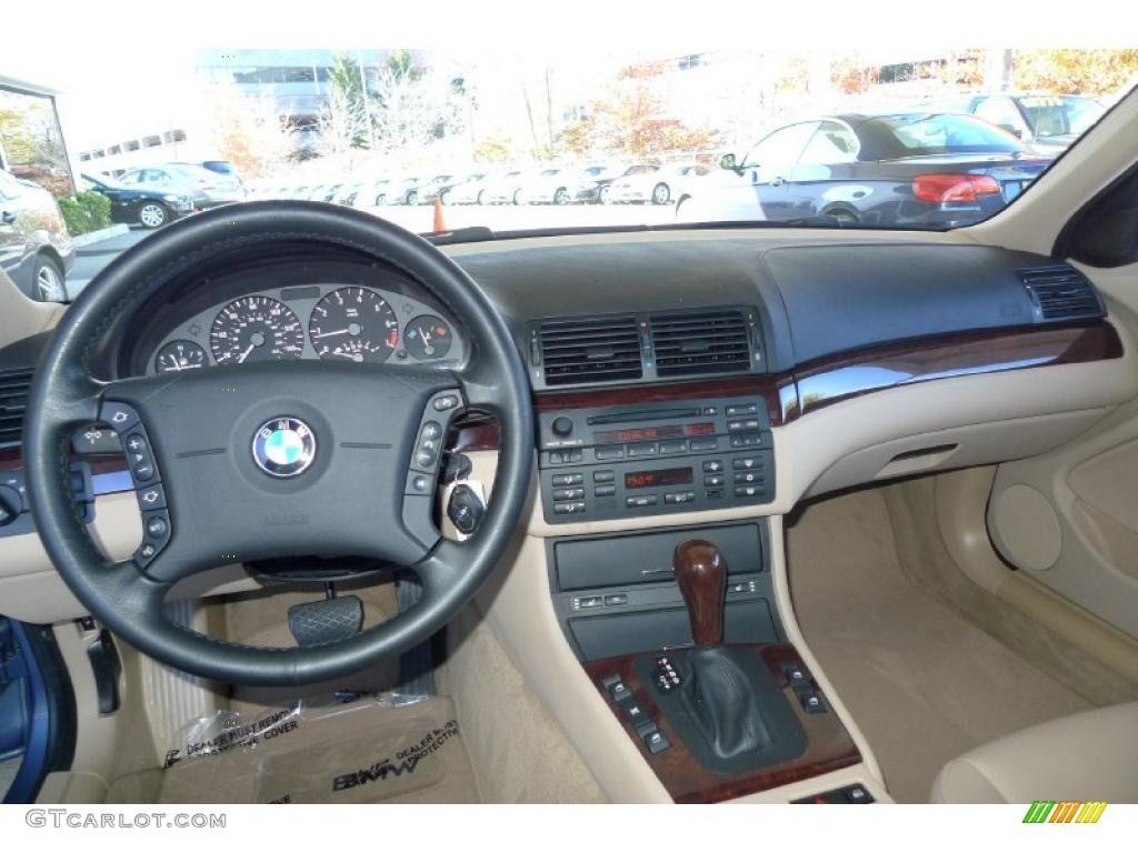 Sand Interior 2005 BMW 3 Series 325i Sedan Photo #39918123