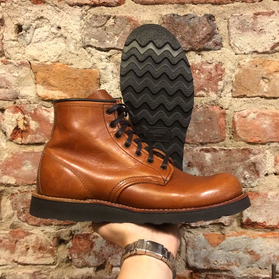 Custom resoling your Red Wing boots ain