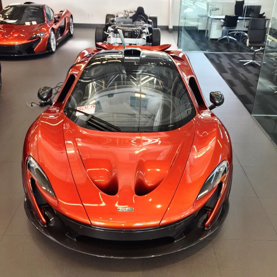 Good afternoon from the McLaren showroom at Dimmitt