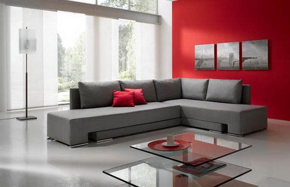 wohnzimmer rot eine verblffende atmosphre. depumpinkcom wohnzimmer ... - Bilder Wohnzimmer Rot