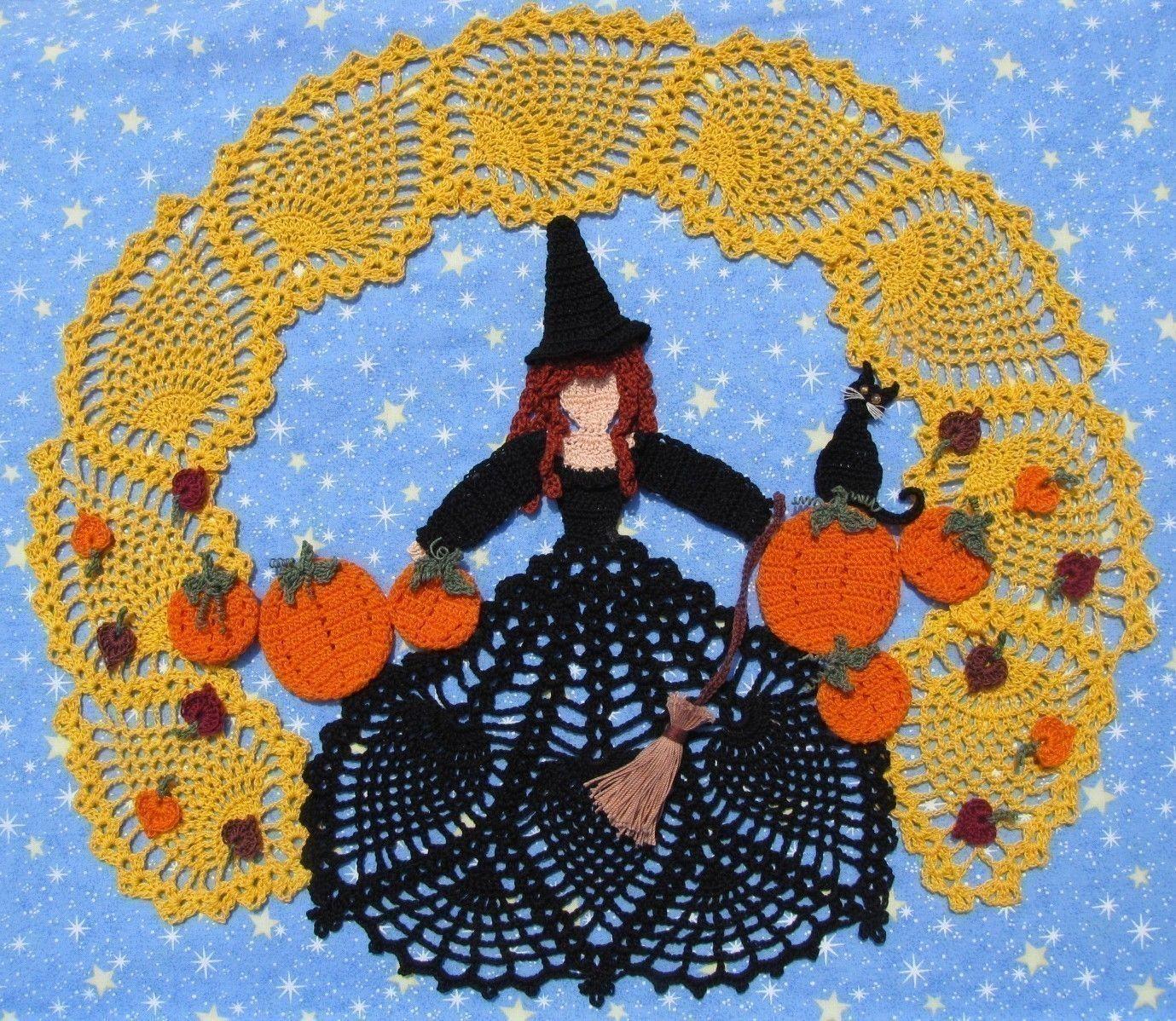 Crochet halloween doilies crochet pattern free crochet crochet halloween doilies crochet pattern free crochet doilies patterns doily patterns bankloansurffo Image collections