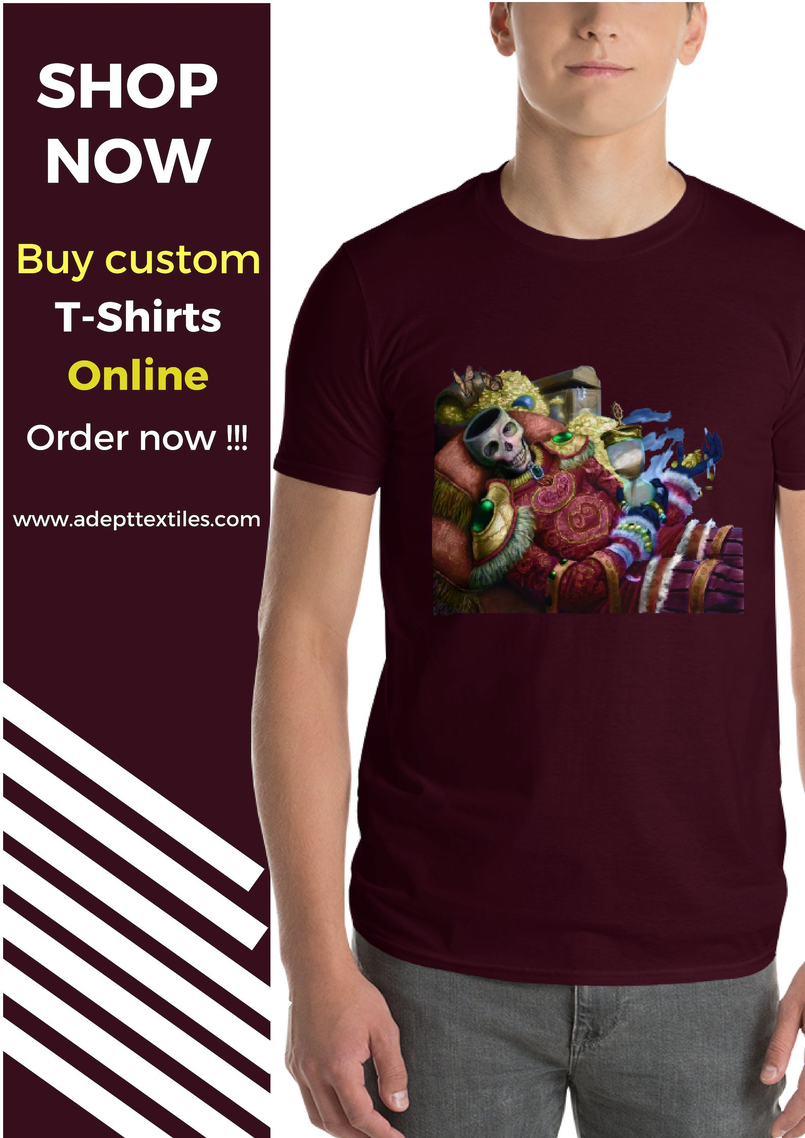 T Shirt Printing Online And Personalised T Shirt Available Only At