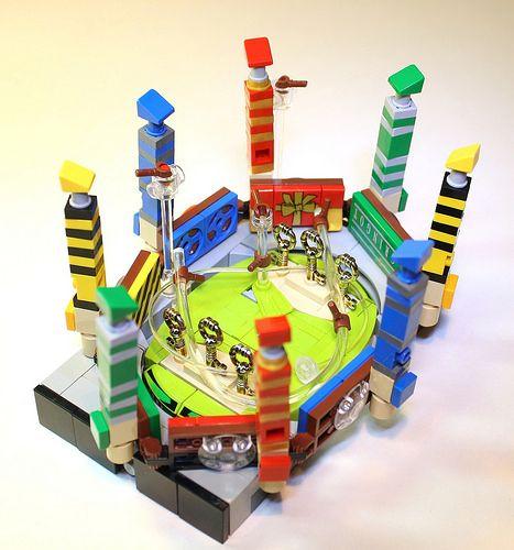 Quidditch Pitch Lego Hogwarts Lego Harry Potter Micro Lego