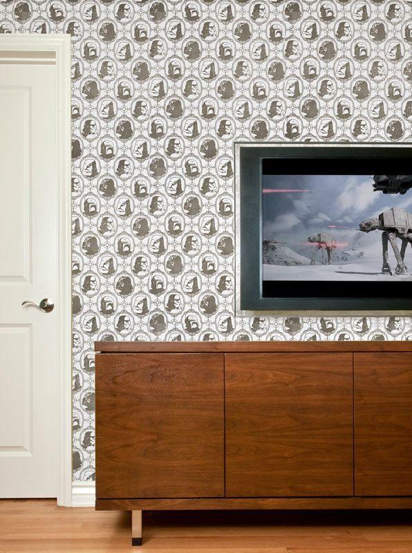 Star Wars Wallpaper Star Wars Room Star Wars Wallpaper Home Goods Decor