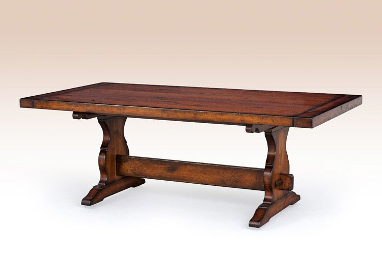 French Country Trestle Table | Trestle dining tables ...