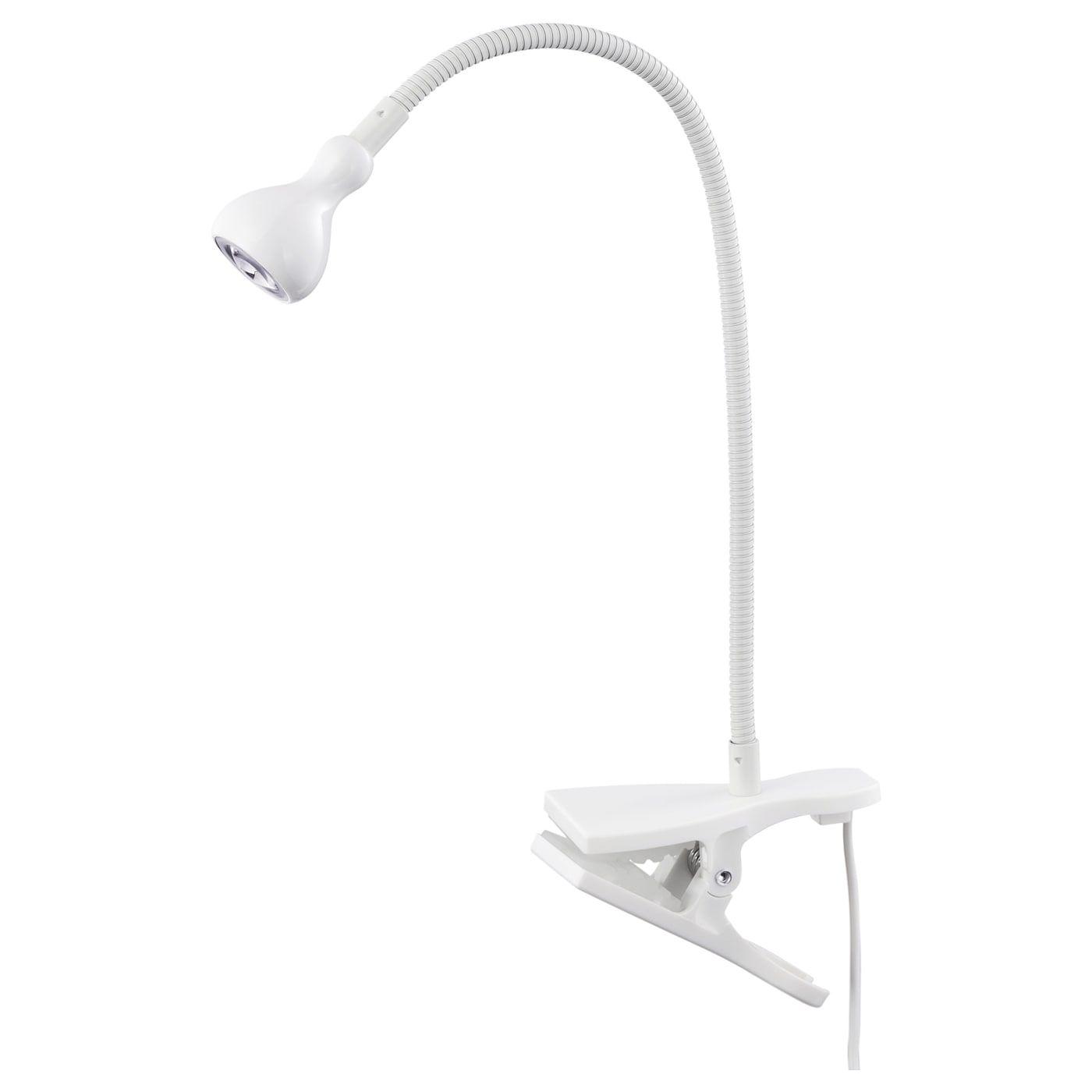 Jansjo Wand Klemmspot Led Weiss Led Ikea Lampen Und Led Lampe