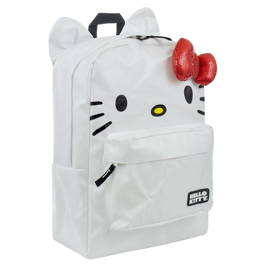 Hello kitty face backpack hello kitty merchandise