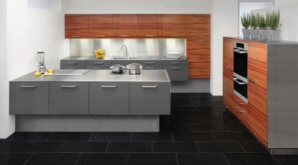 Küche mit Holzboden 9 Bilder \ Ideen von Küchen mit Parkett und - holzdielen in der küche