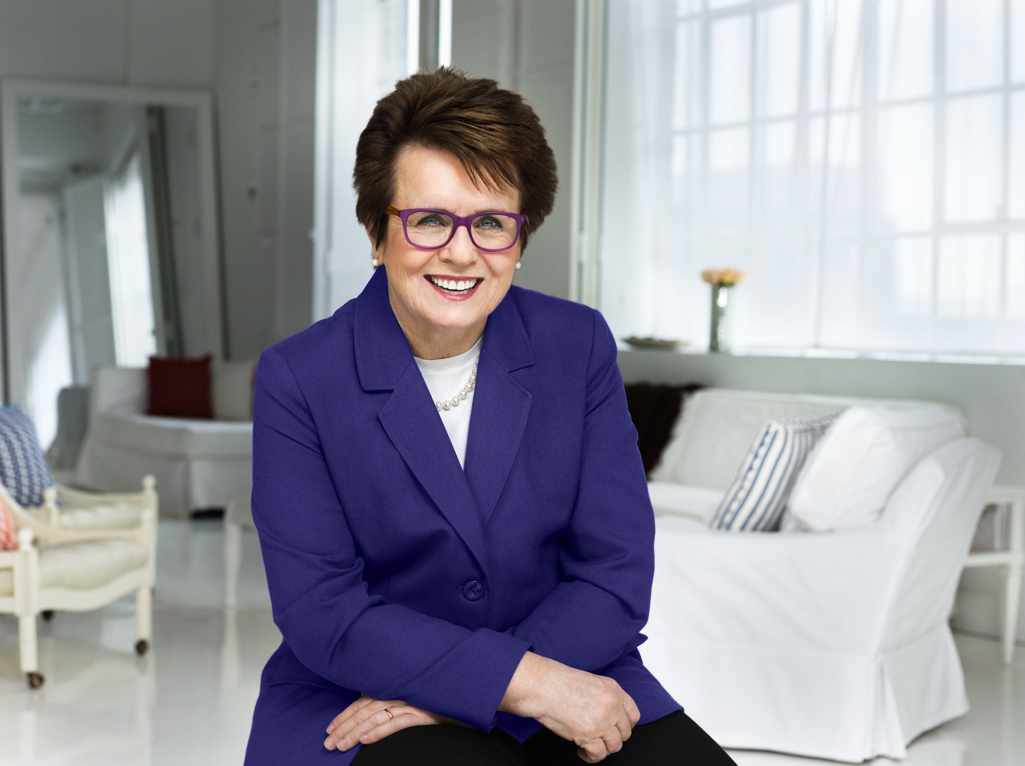 Billie Jean King Rallies Support For Active Aging