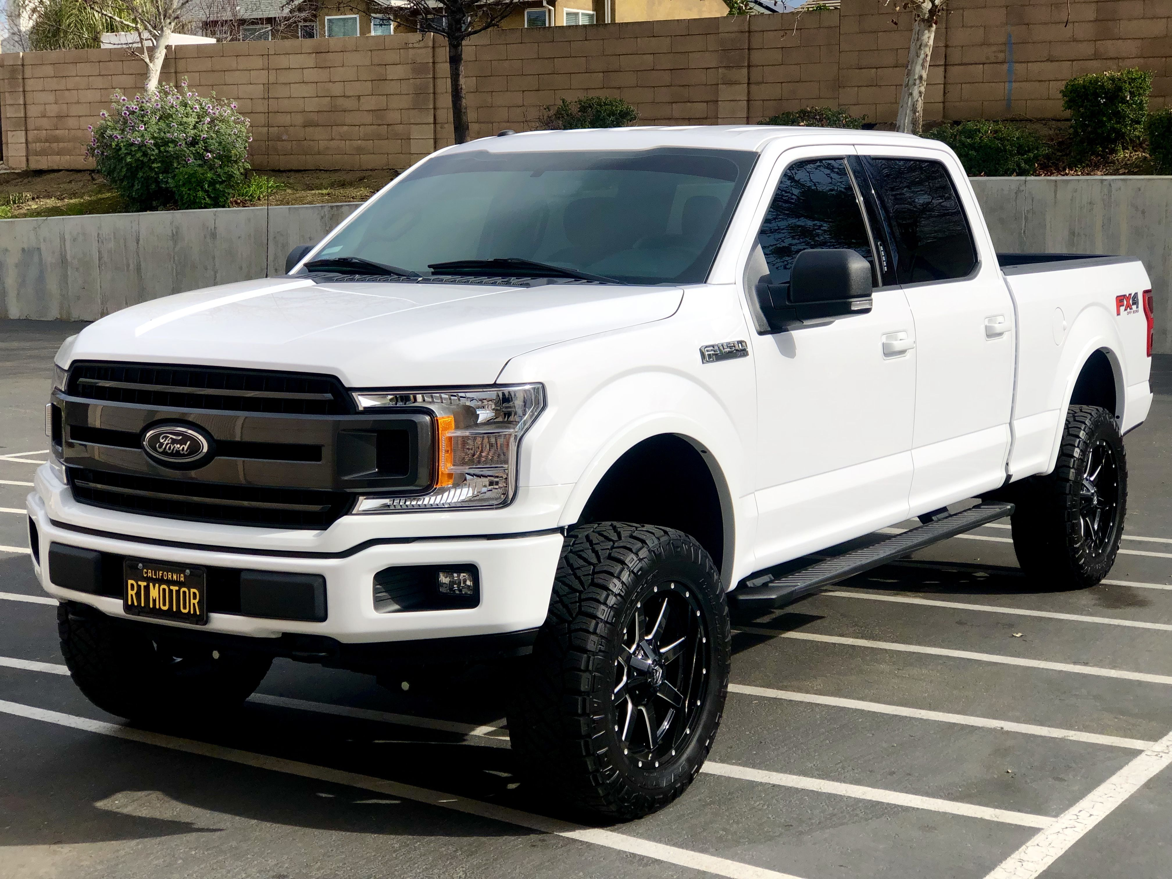 2018 Ford F 150 6 5ft Bed 3 5 Eco Boost With 4inch Bds Coilover