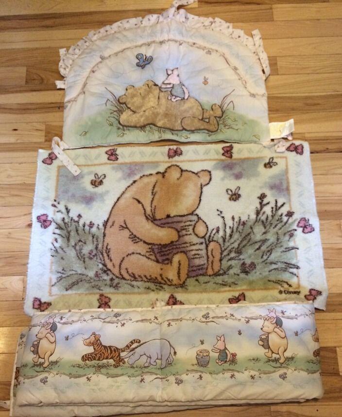 Disney Classic Winnie The Pooh Crib Set Nursery Set Pooh Winnie The Pooh Nursery Winnie The Pooh