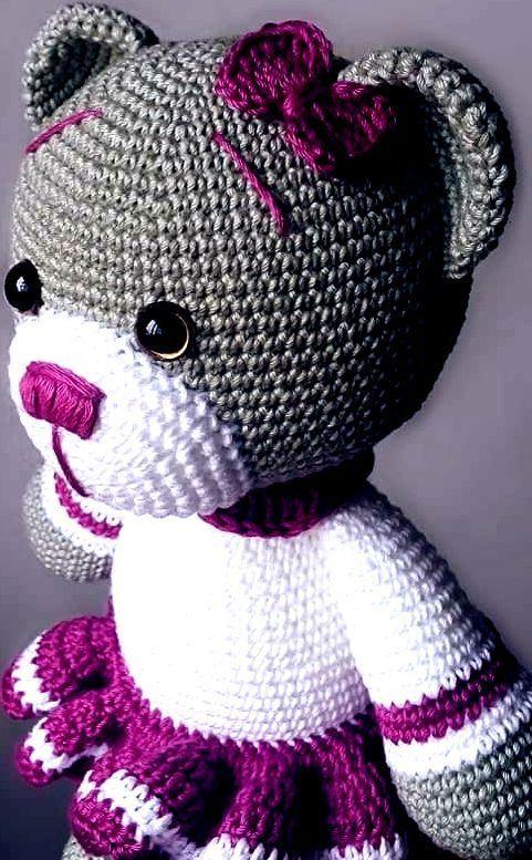 APRENDA E FAÇA: PASSO A PASSO DE AMIGURUMI - CROCHÊ #Amigurumi #Croche #Crochê_Graficos de Croche Gráficos De Crochê Graficos Amigurumi Gráficos #Amigurumi #brasil