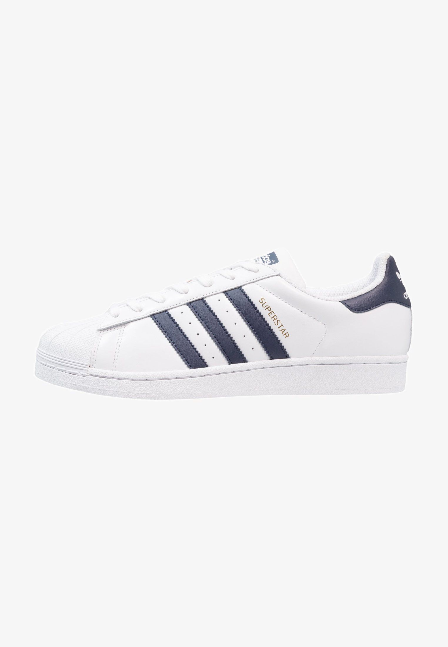 ADIDAS ORIGINALS Sneakers laag 'Superstar' in Goud Wit