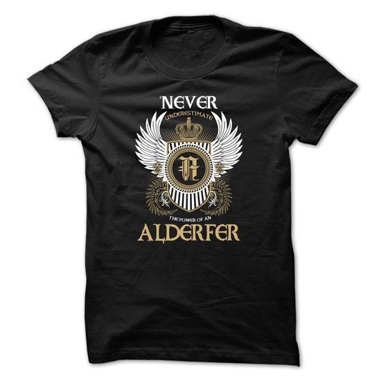 ALDERFER Never Underestimate - #funny tee #sweatshirt ideas. ALDERFER Never Underestimate, university sweatshirt,sweater skirt. LOWEST PRICE =>...
