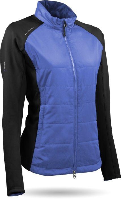 Sun Mountain Ladies Windwear Hybrid Golf Jacket More Stylish Ladies Golf Outerwear At Lorisgolfshoppe Jackets Golf Jackets Women