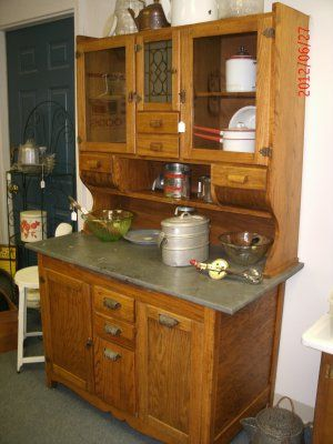 Wilson Antique Kitchen Cabinet My Grandparents Had This. I Think We Called  It The Kitchen