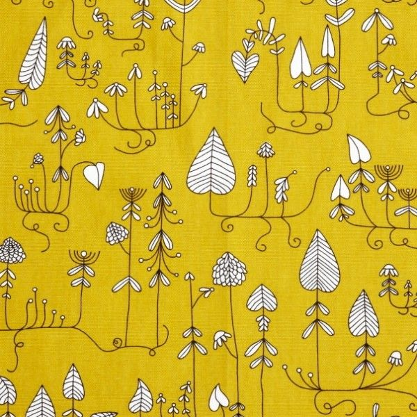 Graphic Designer: Edholm Ullenius ~ Klippan Yellow Moorland Fabric