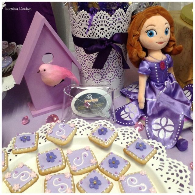 Iconica Design /u0027s Birthday / Sofia the First - Photo Gallery at Catch My Party & 32aa4391f9f13f9a9be84c5faeb26bce.jpg (640×640) | Sofia birthday ...