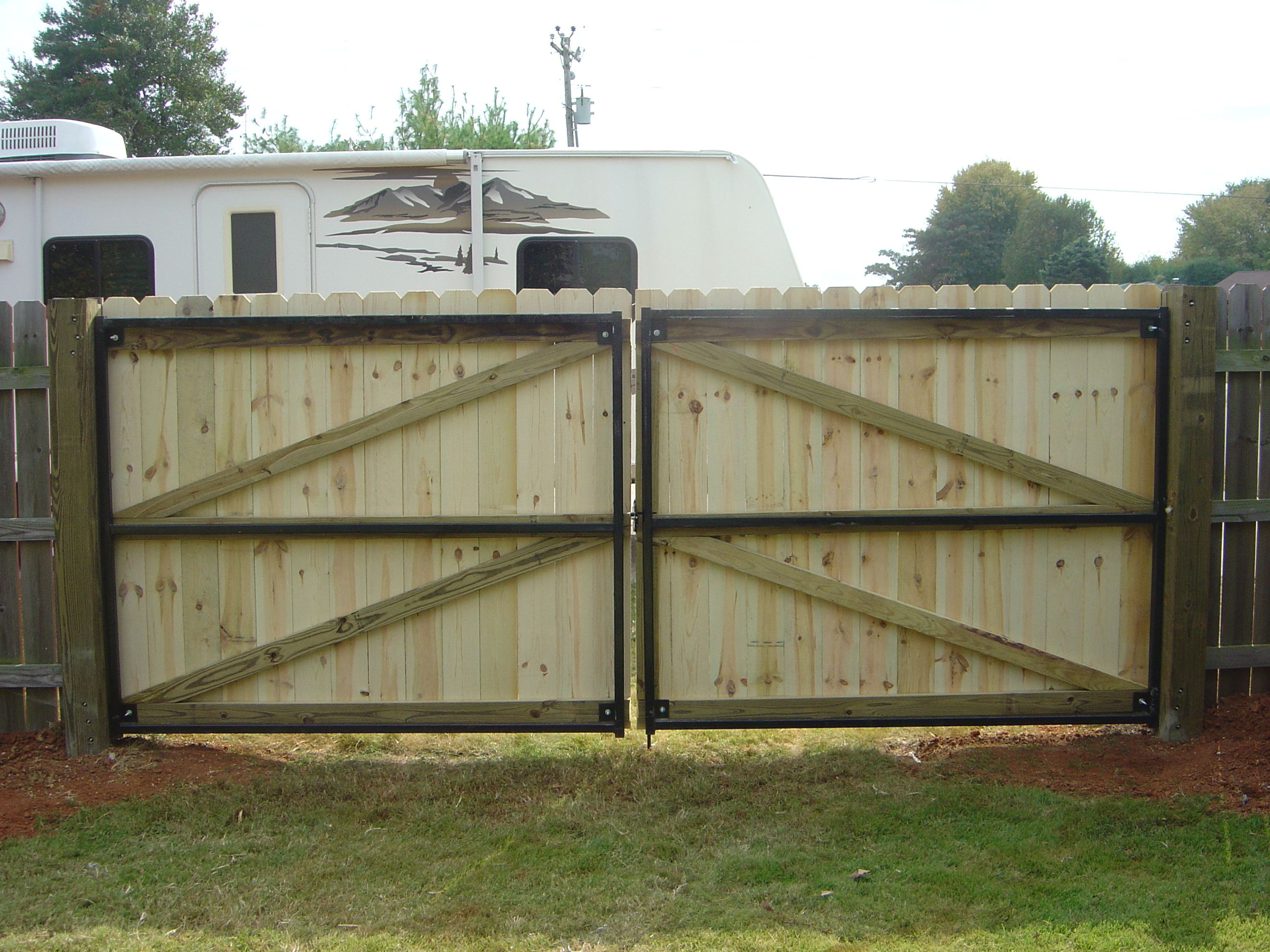 Wood Fence And Gate Vinyl Fences Gates Walpole Woodworkers. gothic ...