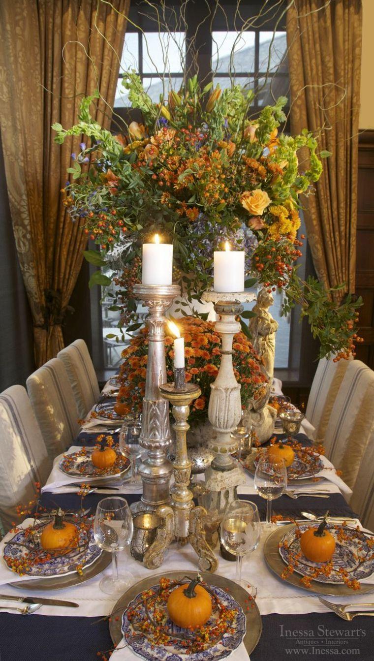 47+ Decoracion de mesa para thanksgiving trends