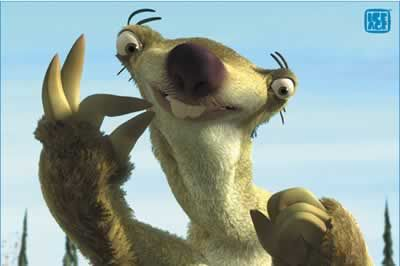sloth from ice age