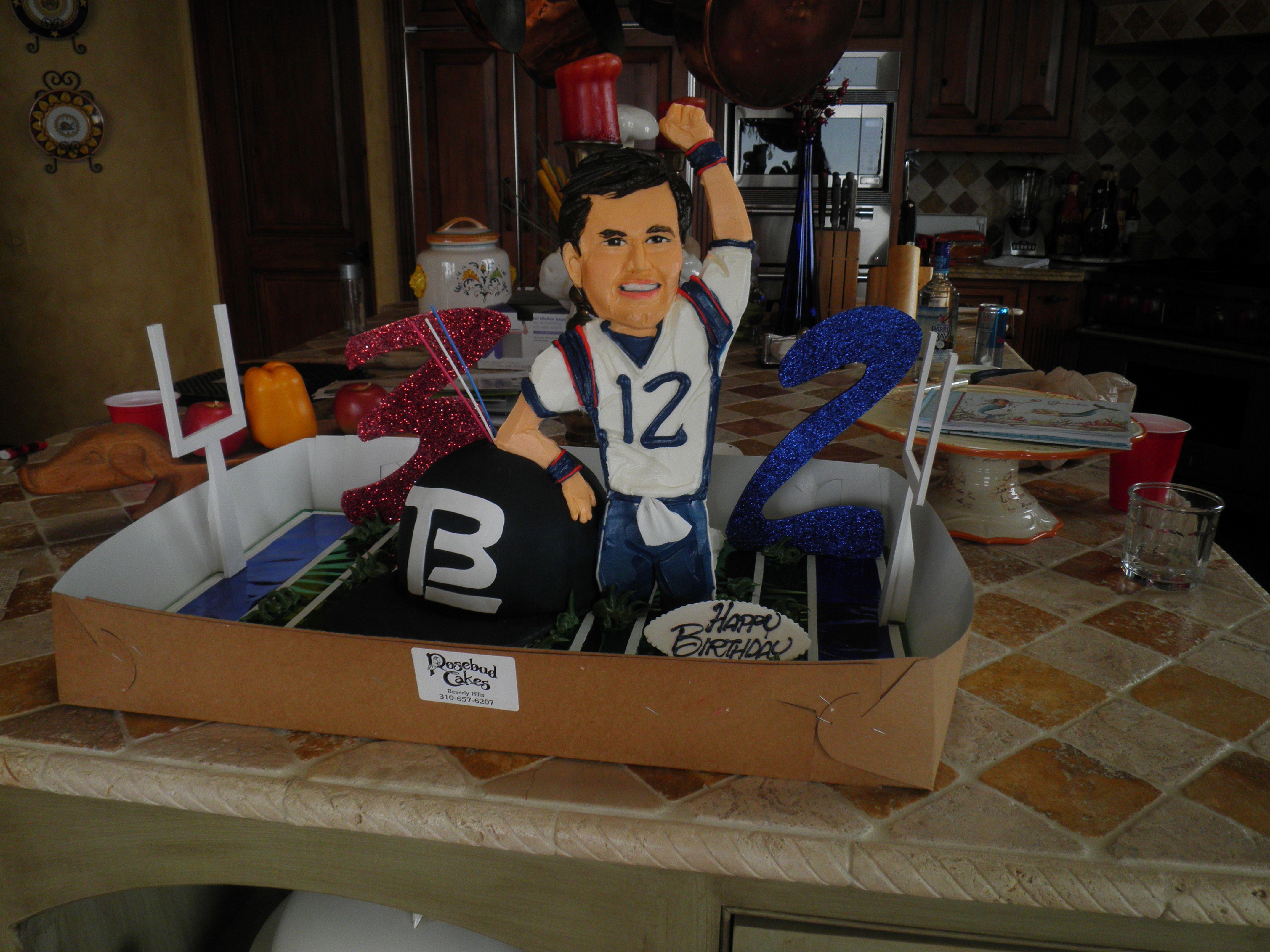 Tom Brady Cake Patriotic Baking Pinterest Tom Brady Toms And