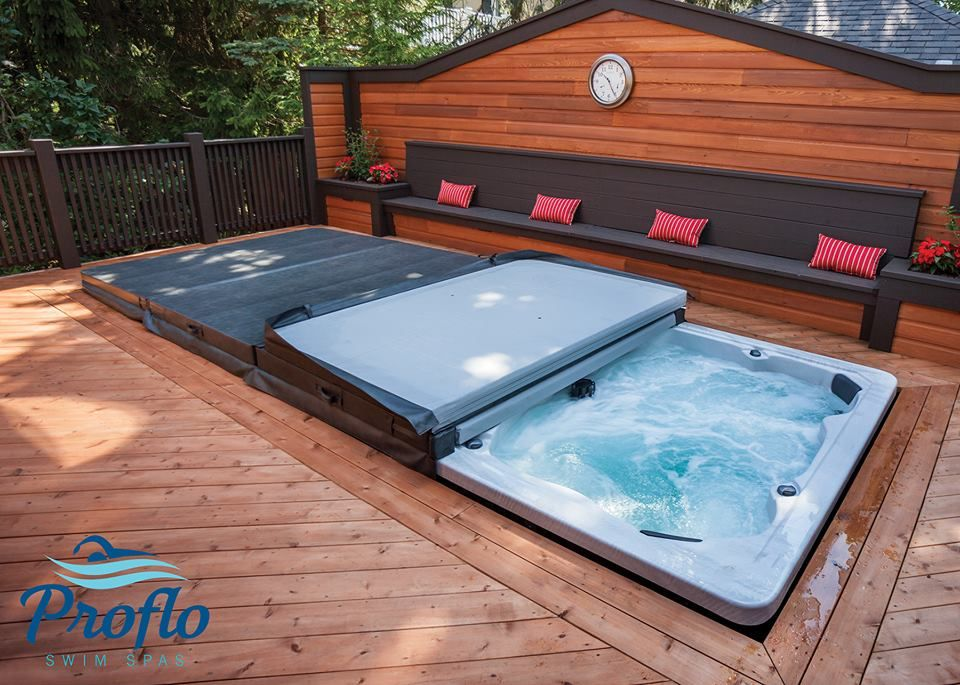 Swim Spa Recently Installed By The Sundance Spa Store! Visit The ...