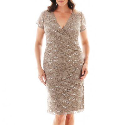 Plus Size Clothing - JCPenney - JCPenney | Lace dress ...