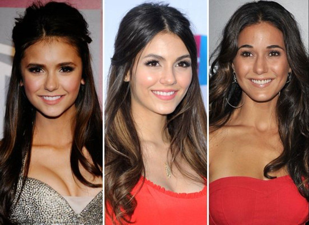 Nina Dobrev Victoria Justice Emmanuelle Chriqui Totally Look Like Sisters