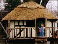 Children's playhouse.