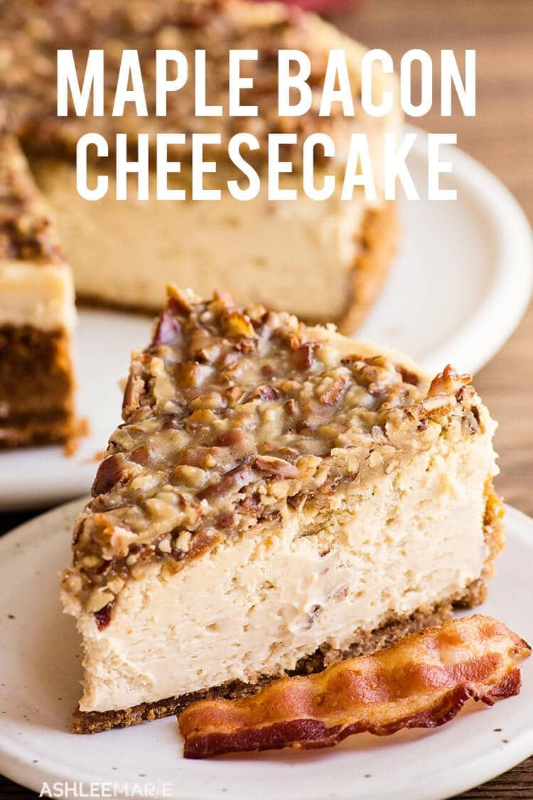 This Maple Bacon Cheesecake Recipe is delicious and easy to make - with tips and tricks for the per
