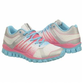 6602c9a91fa  Reebok  Womens Athletic  Reebok  Women s  RealFlex  Strength  Shoes   (White Pink Blue) Reebok Women s RealFlex Strength TR Shoes  (White Pink Blue) ...