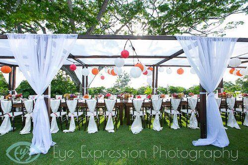 Dark Wood Dinning Canopy - Big Island Tents & Dark Wood Dinning Canopy - Big Island Tents | Wedding and Dinning ...