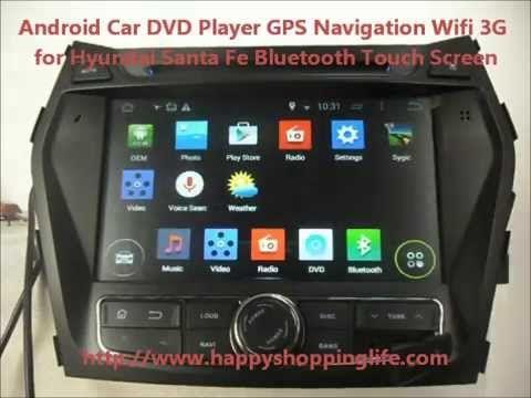 Android Car Dvd Player Gps Navigation Wifi 3g For Hyundai